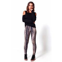 Basic Jaguar Print Legging