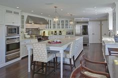 Dreamy Kitchen Islands Pinterest Hgtv Hgtv Magazine And - Kitchen islands with seating for 4