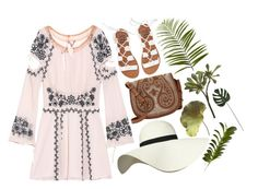"""Paradise"" by clampigirl ❤ liked on Polyvore featuring For Love & Lemons, Billabong, Pilot, Tory Burch, Pier 1 Imports, CB2, New Growth Designs, Summer and quickset"