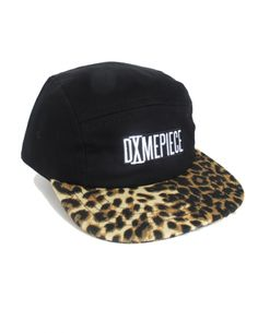 DimePiece 5-Panel Leopard   Blk Cap Every female needs at least one snapback . 5808d17ae214