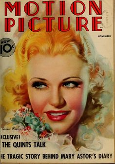 Ginger Rogers Motion Picture