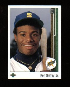 ff826674c9 Ken Griffey Jr 1989 Upper Deck RC Rookie Card Seattle Mariners check out my  other stuff I do combined shipping