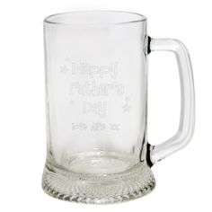 Personalised Fathers Day Stern Pint Tankard  from Personalised Gifts Shop - ONLY £14.99