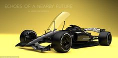 A key difference for Van Oberbeeke's F1 cars is a closed cockpit that would provide additi...
