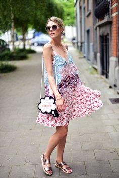 Stella dress. Sofie in Antwerp. #Fashionata
