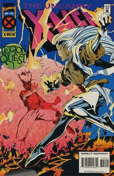 Cover for The Uncanny X-Men (Marvel, 1981 series) #320 [Direct Deluxe Edition]