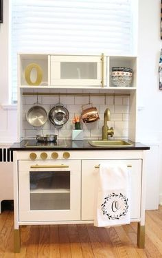modern play kitchen ikea duktig play kitchen hack, diy, kitchen design, woodworking projects