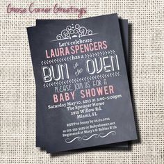 Baby Shower Invitation by GooseCornerGreetings on Etsy, $12.00