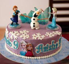 Frozen Theme Cake!!
