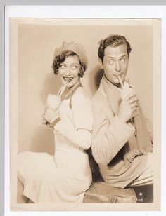 Joan Crawford and robert Montgomery