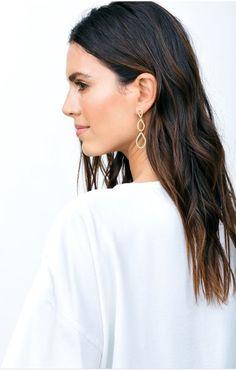 Shop Nordy Picks Gorjana Nora Shimmer Teardrop Earrings Gold $80 - Shop Nordy
