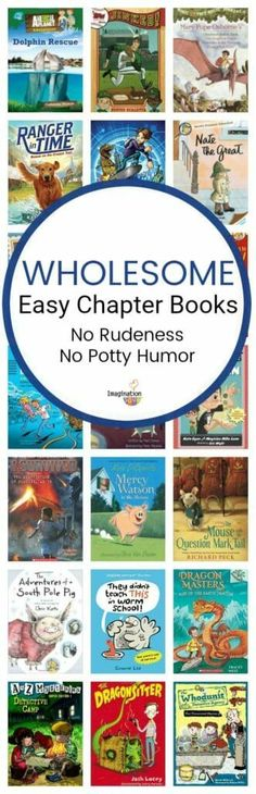 A Nice Kids Early Chapter Books List for Boys A reader asked me for a book list for wholesome beginning (early) chapter books that do NOT have potty humor and rude characters with sassiness. Kids Reading, Teaching Reading, Reading Lists, Reading Books, Books For Boys, Childrens Books, Kid Books, Chapter Books, Children's Literature