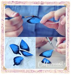 Делаем брошь «Бабочка» из флористической глины - Украшения, аксессуары - Рукодельничаем - Минчанка: быть женщиной - это интересно!