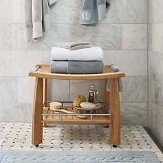 Shower Accessories - Shower Bench - Shower Caddy - Frontgate