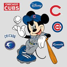 Mickey Mouse - Chicago Cubs...