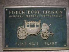Fisher Body #1 | BUICK FACTORY HISTORY