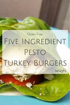 5 ingredients, totally clean, delicious. The BEST method for cooking turkey burgers, and with the amazing addition of pesto! Gluten Free and easy to modify. http://suzlyfe.com/best-five-ingredient-pesto-turkey-burgers-recipe-gluten-free/?utm_campaign=coschedule&utm_source=pinterest&utm_medium=Suzlyfe&utm_content=Five%20Ingredient%20Pesto%20Turkey%20Burgers%20%28Gluten%20Free%29