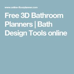 Design Your Dream Bathroom Online - 3D Bathroom Planner | Reece | 3D ...