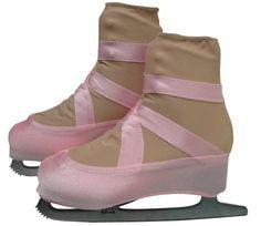 Ballet Slipper Skate Boot Covers / Figure Skating / Ice Skating / Roller Skating