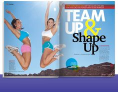 Team Up & Shape Up! from our June 2011 issue! Click through for a sneak peek of this issue!