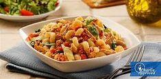 Mediterranean Pasta with tuna Tuna Pasta Casserole, Ww Recipes, Chicken Recipes, Sundried Tomato Pasta, Spiral Pasta, Mediterranean Pasta, Food Website, Budget Meals, How To Cook Pasta