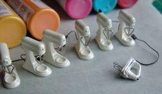 Dollhouse Miniature Tutorials | dollhouse-miniature-stand-mixer