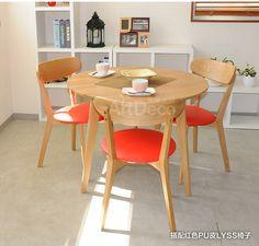 nordic piccolo appartamento composto rovere dinette con tavolo da pranzo in legno combinazione di moderno e