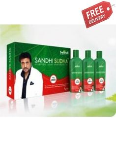 Sandhi Sudha, is an Ayurvedic product.It helps pain of knees, body, back, shoulder pain etc in 10 to 15 days of use. To buy this product click on our link http://www.megabrands.com.pk/index.php/health-beauty/sandhi-sudha.html  Or you can also contact us on Whatsapp & viber at this number.0323-4122675  its price Rs.2,999/- only