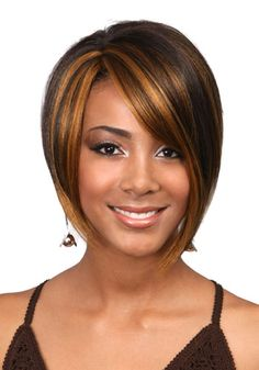 asymmetric bob wig  | M379 Yuki - Synthetic Hair Wig - Bobbi Boss | Laissez Faire Hair