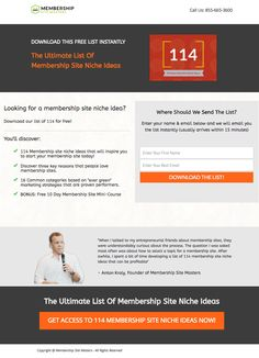 Membership Site Masters Landing Page Example Landing Page Examples, Best Landing Pages, Site Master, Inbound Marketing, Learning, Masters, Master's Degree, Study, Teaching