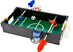 Foosball drinking game. A must-have!