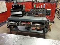 Completed my new welding workbench