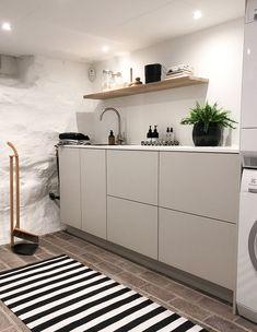 Laundry Room Inspiration, Vanity Room, Laundry Room Organization, Laundry Rooms, Bathroom Inspo, Minimalist Interior, Decoration, Sweet Home, House