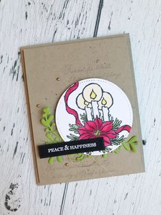 Stampin Up Christmas, Christmas Cards, Christmas Ideas, Happiness, Christmas Blessings, Wink Of Stella, Cute Snowman, The Night Before Christmas, Winter Cards