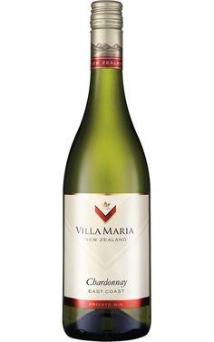 Villa Maria Private Bin Chardonnay 2014 East Coast #VillaMaria #Chardonnay #Whitewine #organicwhite #australia #wine Green Highlights, Antipasto Platter, Organic Wine, Ripe Peach, Sustainable Farming, Wine Wednesday, Wine Parties, Cabernet Sauvignon, East Coast