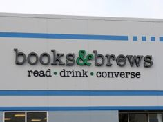 Books & Brews, why are there not more of these places?! I want one near me!