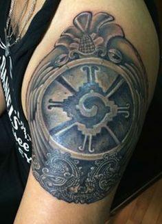 Símbolo de Hunab Kú, deidad maya, el dios solitario.