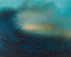 Paisajes Interiores: barrido Océanos Abstract by Samantha Keely Smith pintura abstracta olas de agua