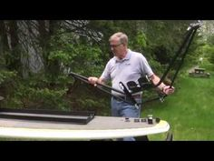 Surf Scull Rig For Stand Up Paddleboards CONVERT YOUR S.U.P. INTO A SCULLING BOAT