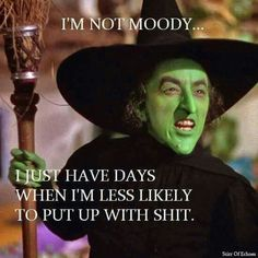 Not moody