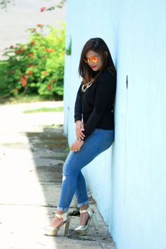 Shades of blue | OOTD | Mandy Shares Life