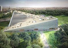 Snøhetta and SANAA win Budapest National Gallery/Ludwig Museum competition New National Gallery and Ludwig Museum Snohetta – Inhabitat - Green Design, Innovation, Architecture, Green Building