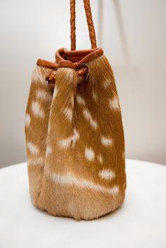 Dear Prudence deer skin bag