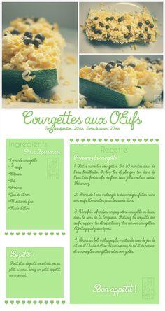 Les Gourmandises de Jelly: ♥ 045 • Courgettes aux œufs ♥