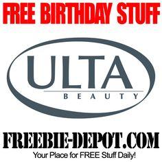 BIRTHDAY FREEBIE - Ulta Beauty - FREE Birthday Rewards