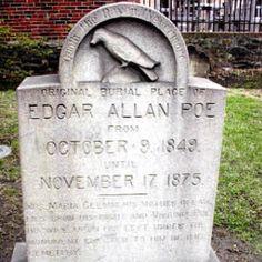 Edgar Allen Poe, Baltimore, Maryland
