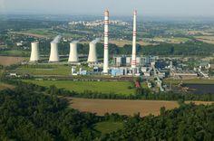 Elektrárna Dětmarovice - Uhelné elektrárny ČEZ - Elektrárny - Svět energie.cz Cn Tower, Portal, Building, Travel, Viajes, Buildings, Trips, Traveling, Tourism