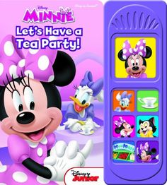 Mickey Mouse Clubhouse: Let's Have a Tea Party: Play-a-Sound by Editors of Publications International http://www.amazon.com/dp/1450862047/ref=cm_sw_r_pi_dp_bd-Nvb0GD9E3F