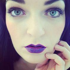 Mac purple lips