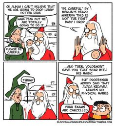 Dumbledore is depicted as a rather serious guy in the Harry Potter franchise, so it's amusing to see this side of him! comics These Awesome Harry Potter Comics Show Dumbledore's Sassy Side Harry Potter Comics, Dumbledore Comics, Harry Potter Jokes, Harry Potter Fandom, Meme Comics, Voldemort, Memes Humor, Funny Memes, Funny Cartoons